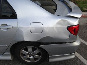 car accident - side view