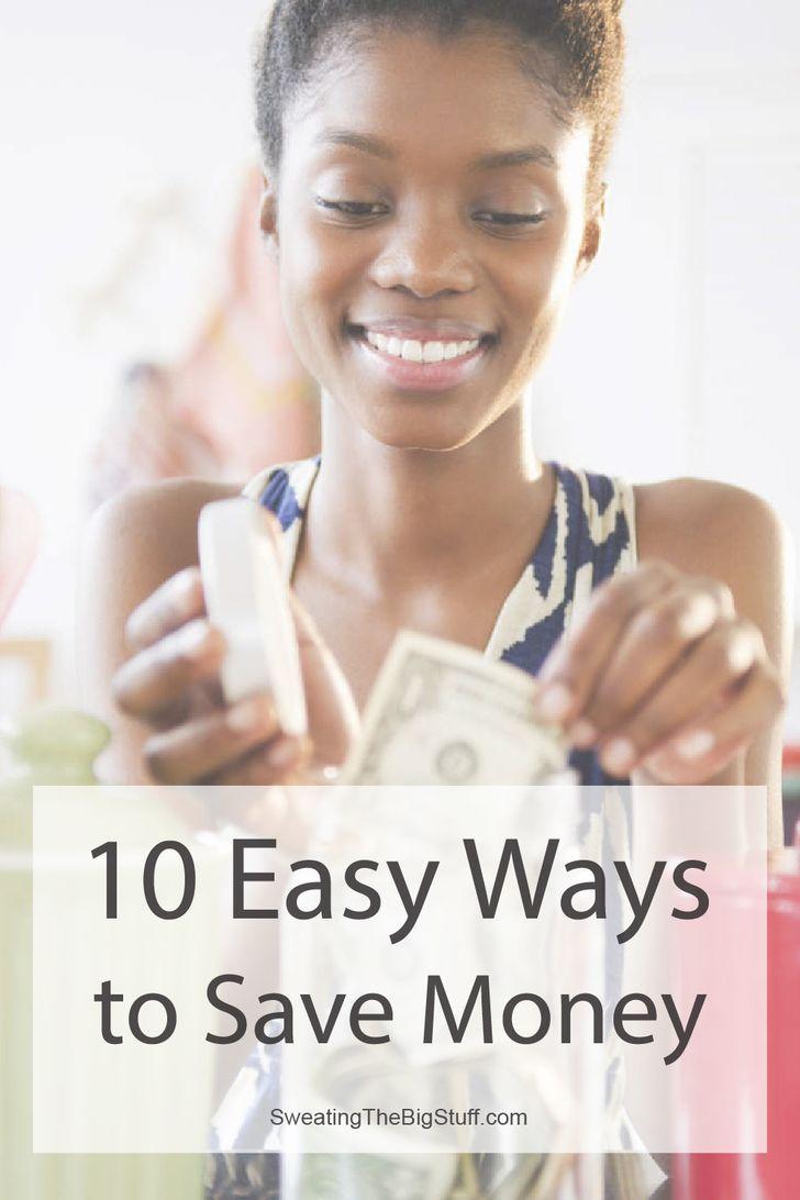 10 Easy Ways to Save Money