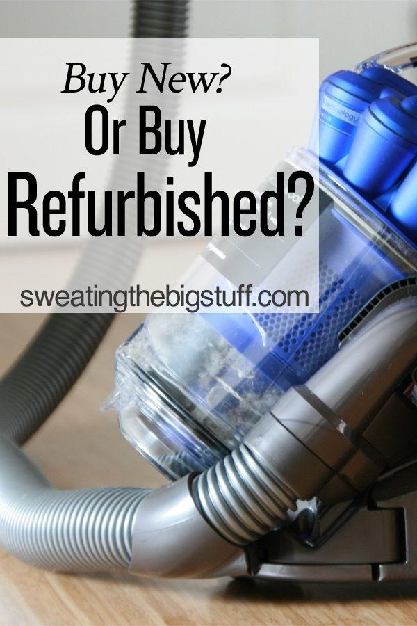 Buy New or Buy Refurbished?
