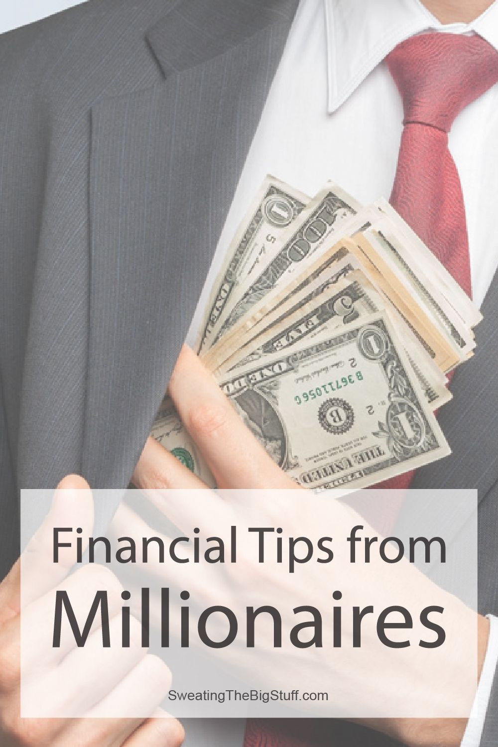 Financial Tips from Millionaires