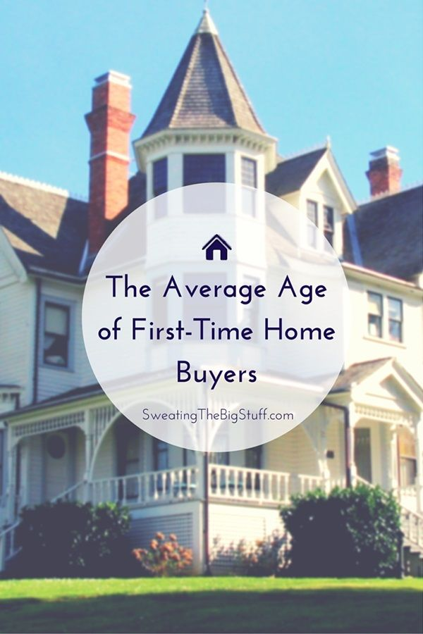 The Average Age of First-Time Home Buyers