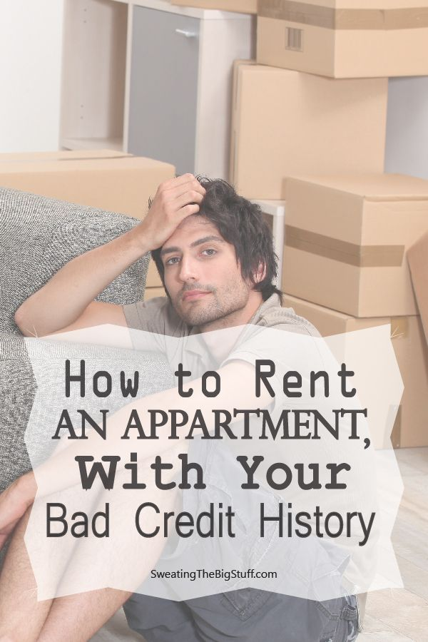 How to Rent an Apartment with Your Bad Credit History