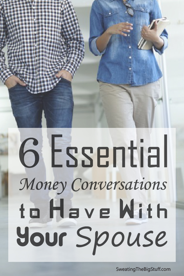 Money is probably the #1 thing couples fight about. These are excellent tips to help talk about money with your partner early and can help preserve your relationship!