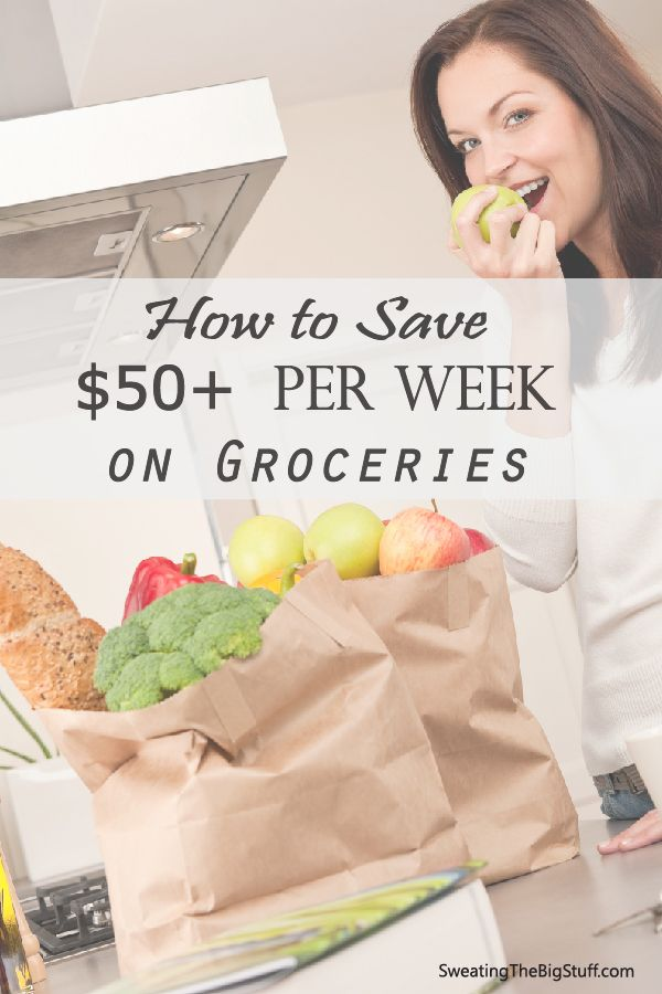 If you're constantly over budget on your groceries, try these tips to save you big each month! We cut our budget significantly with just a few small tweaks!