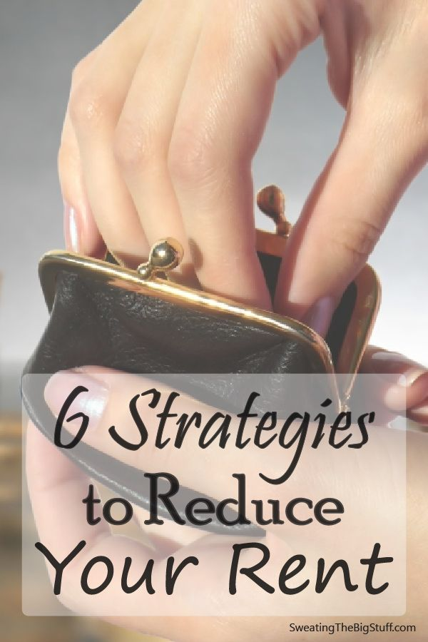 Strategies to Reduce Your Rent